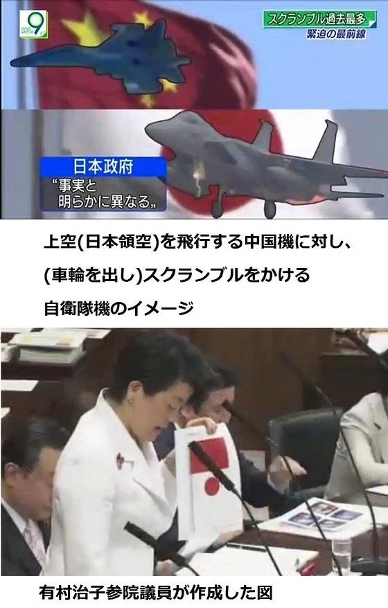 有村治子議員「NHKはどこの国の公共放送か?」 NHKが日の丸を中国国旗の下に 岸信夫外務副大臣「あってはならない」 【公共放送】NHK、「ニュースウオッチ9」の中で日の丸を中国国旗の下に表示…NHK「国の上下