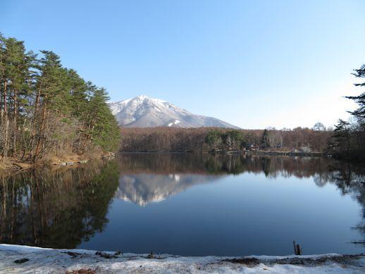 解凍・・・・飯綱湖