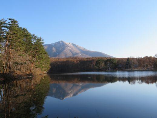 4月24日 飯綱湖