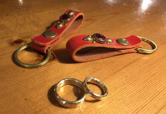 真鍮製のペアリング