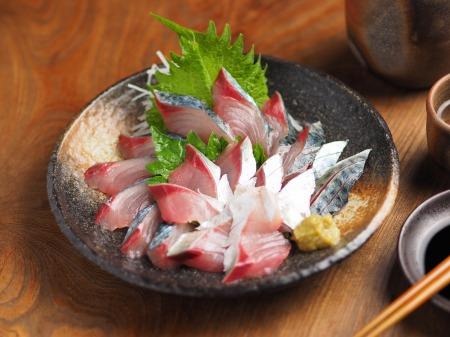大分産鯖の刺身、さばき方10