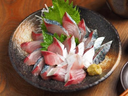 大分産鯖の刺身、さばき方11