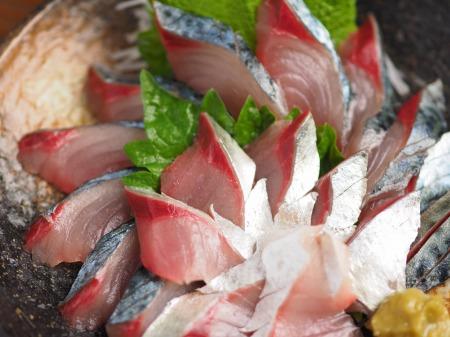 大分産鯖の刺身、さばき方16