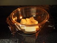 ゲソと豆腐のマヨしょう油炒め04