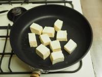 ゲソと豆腐のマヨしょう油炒め08