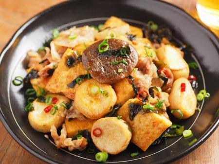 エリンギと豆腐のオイスターソー18