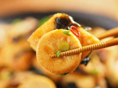 エリンギと豆腐のオイスターソー30