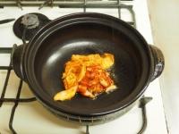炙り鶏肉と豚バラのキムチ鍋22