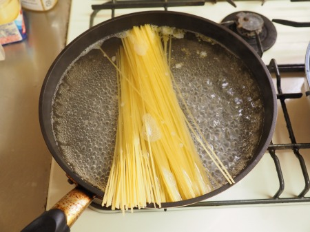 焼肉スパゲティ早茹でパスタ03