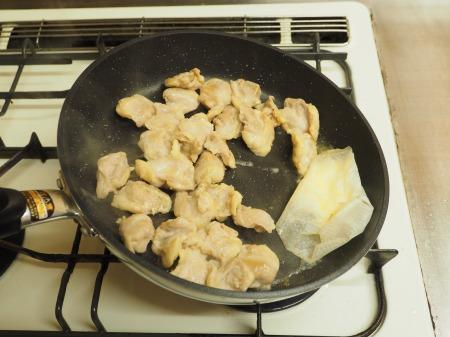 鶏ハラミと長ねぎの照り焼き37