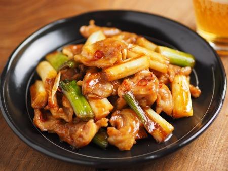 鶏ハラミと長ねぎの照り焼き24