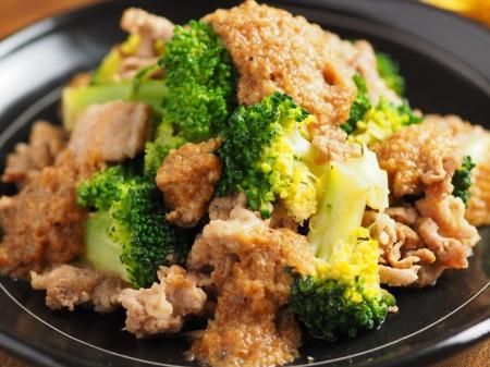 豚こま肉とブロッコリーの玉ねぎ18
