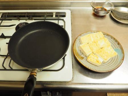 炒どうふのすき焼き炒め30