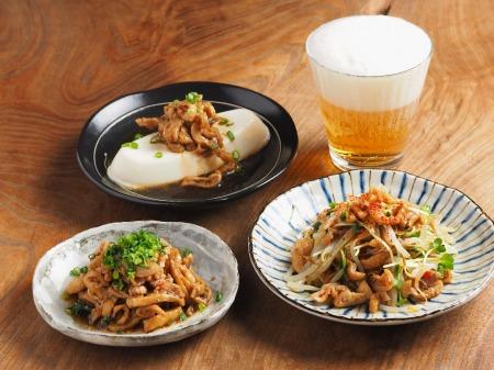 メシ通鶏皮ポン酢10