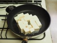 炒どうふで汁なし麻婆豆腐05