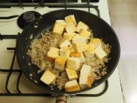 炒どうふで汁なし麻婆豆腐12