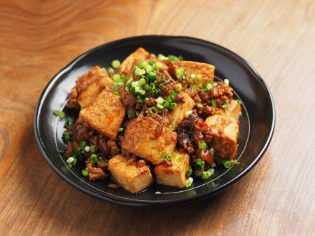 炒どうふで汁なし麻婆豆腐22