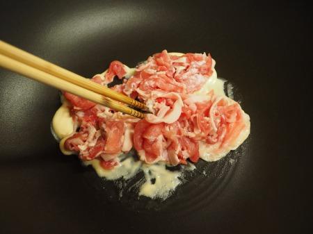 春キャベツの生姜味噌炒め37