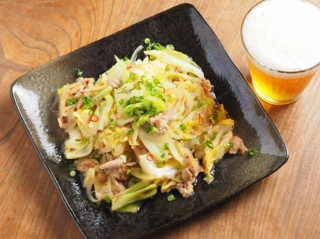 春キャベツの生姜味噌炒め18
