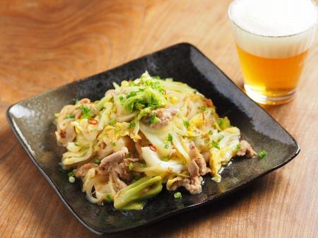春キャベツの生姜味噌炒め13