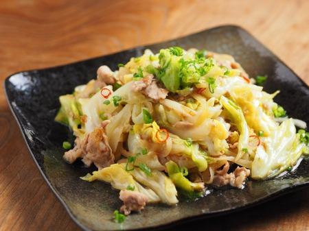 春キャベツの生姜味噌炒め11