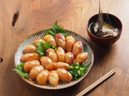 チヌ島寿司、潮汁07