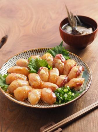 チヌ島寿司、潮汁04