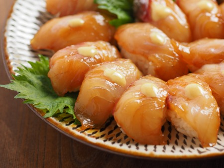 チヌ島寿司、潮汁08