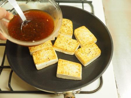 炒どうふのピリ辛生姜焼き06