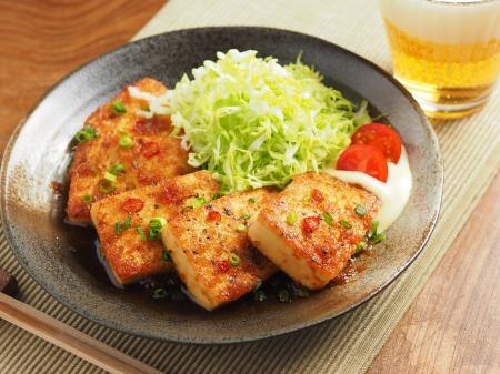 炒どうふのピリ辛生姜焼き25