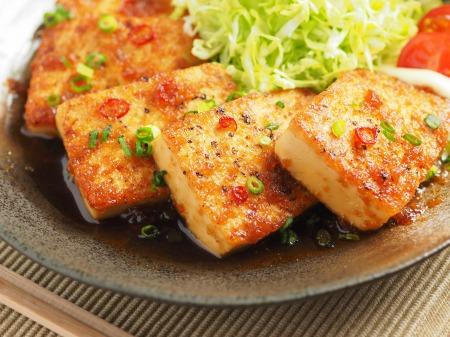 炒どうふのピリ辛生姜焼き33