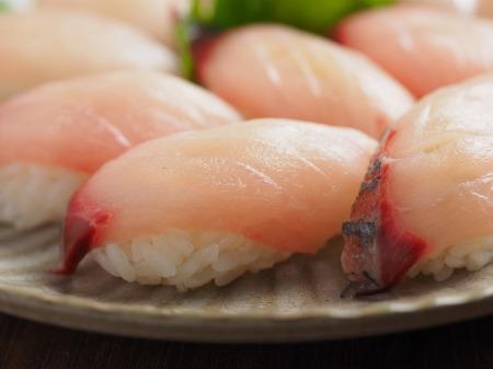 地アジ握り寿司18