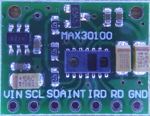 MAX30100モジュール