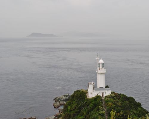 椿山展望台から灯台
