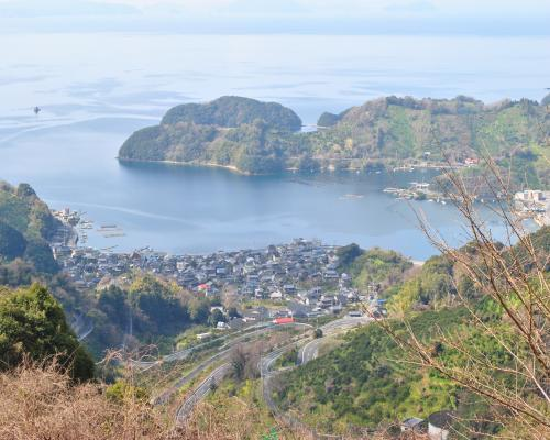 野福峠の風景