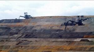 ドイツの褐炭露天掘り