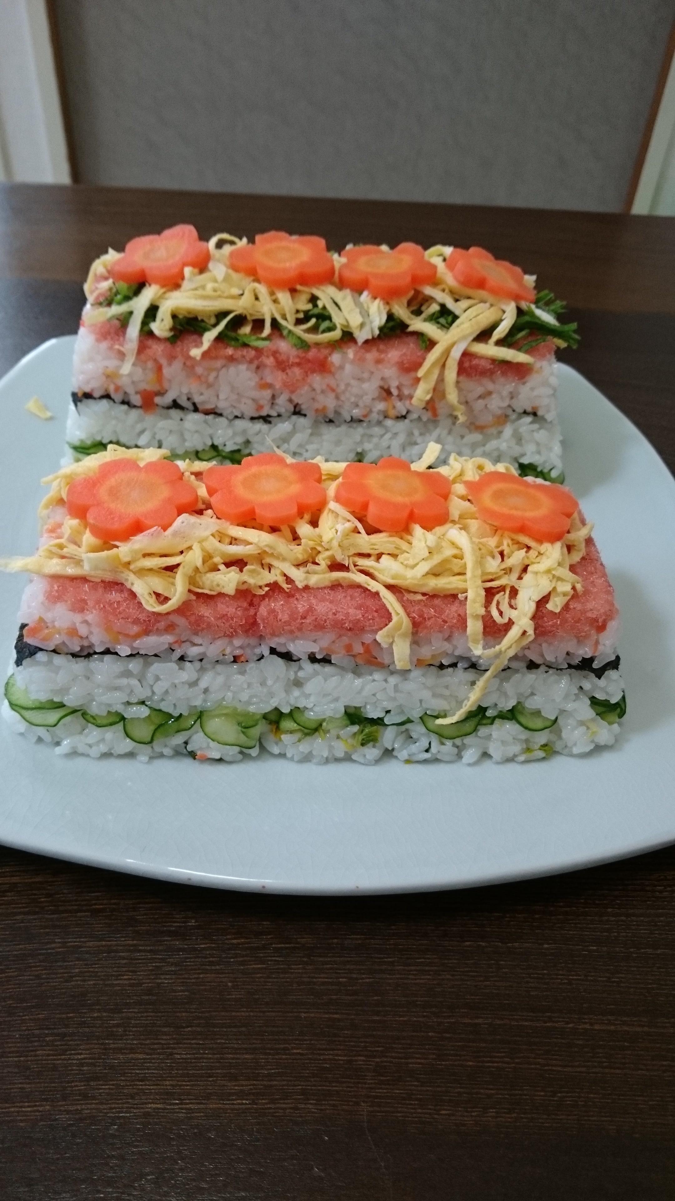 ちらし寿司 2017