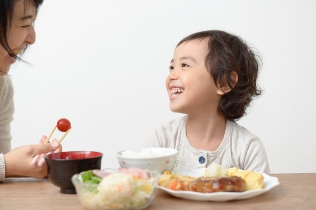 子供と食事