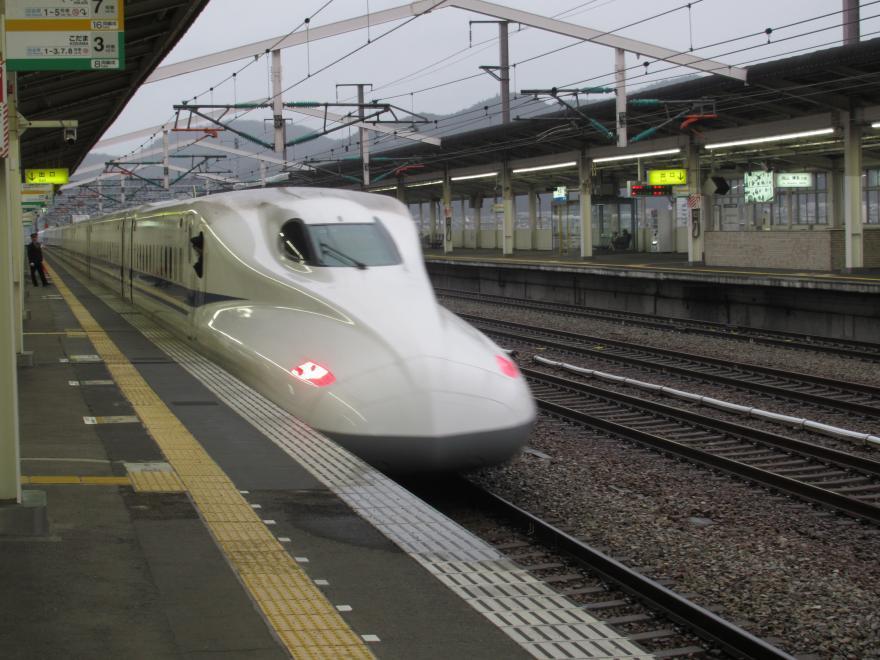 山陽新幹線(相生駅)