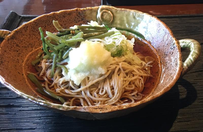 2017-2-26山菜冷しそばIMG_0762