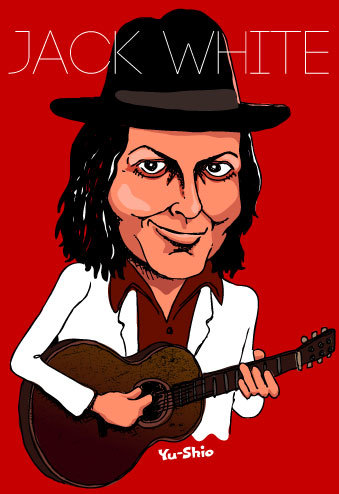 Jack White caricature