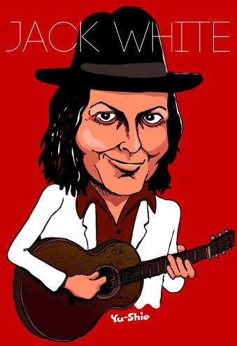 Jack White caricature