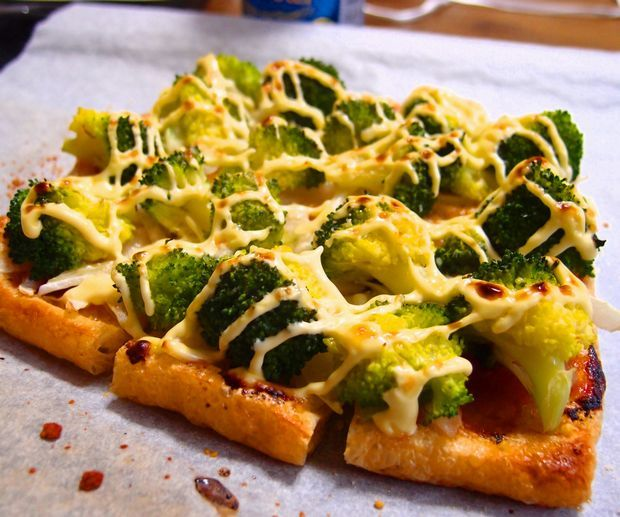 油揚げピザ②