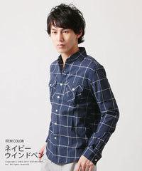 メンズ ミリタリーシャツ 爽やか 春 2017 4