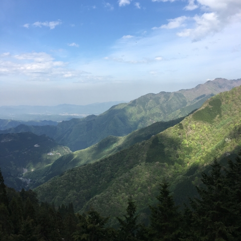 秩父の山々