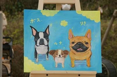 Kiyocちゃん絵が完成