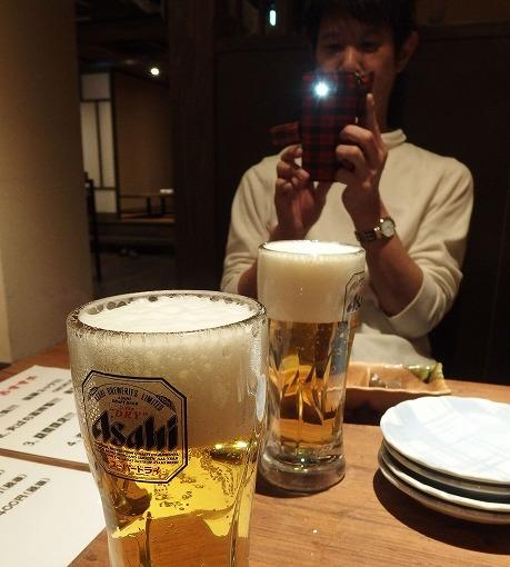 170226火ばち家-生ビール