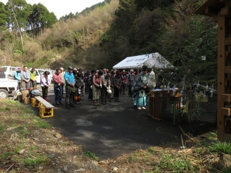 カラ迫山開き 052