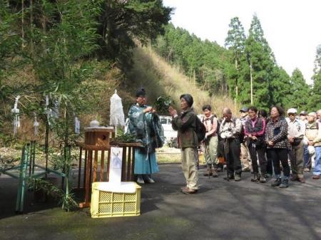 カラ迫山開き 067