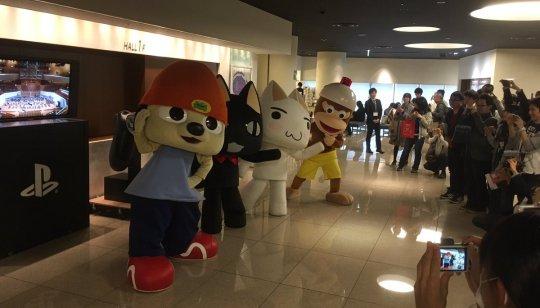 イベントでPSの過去キャラクターが大集結!!